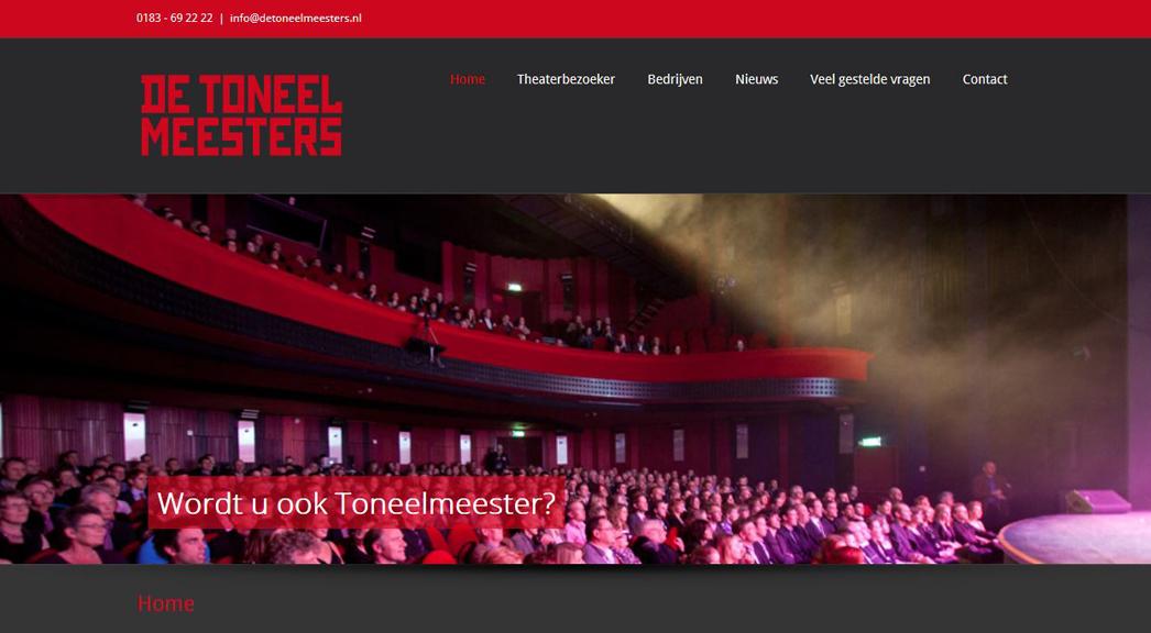 website De Toneelmeesters DND1