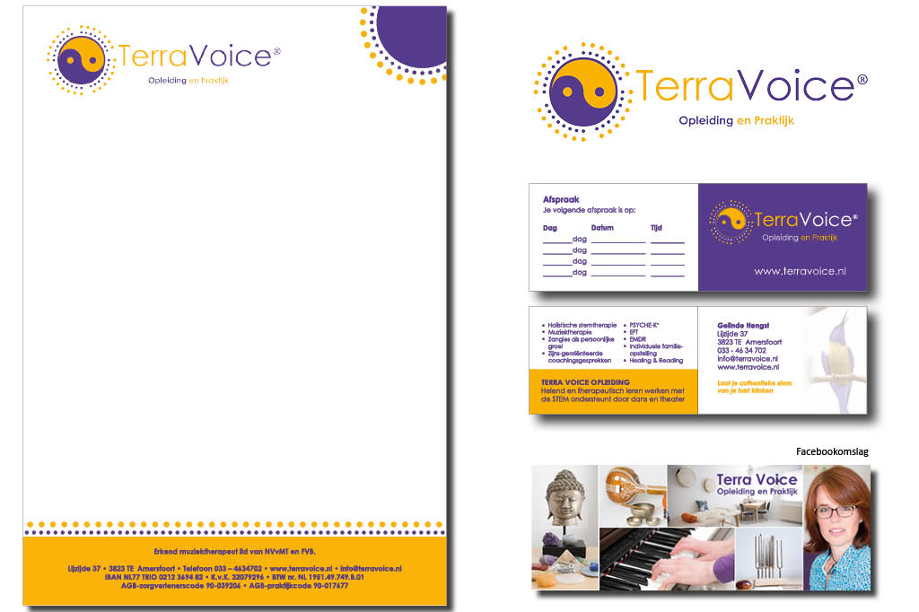 huisstijl Terra Voice